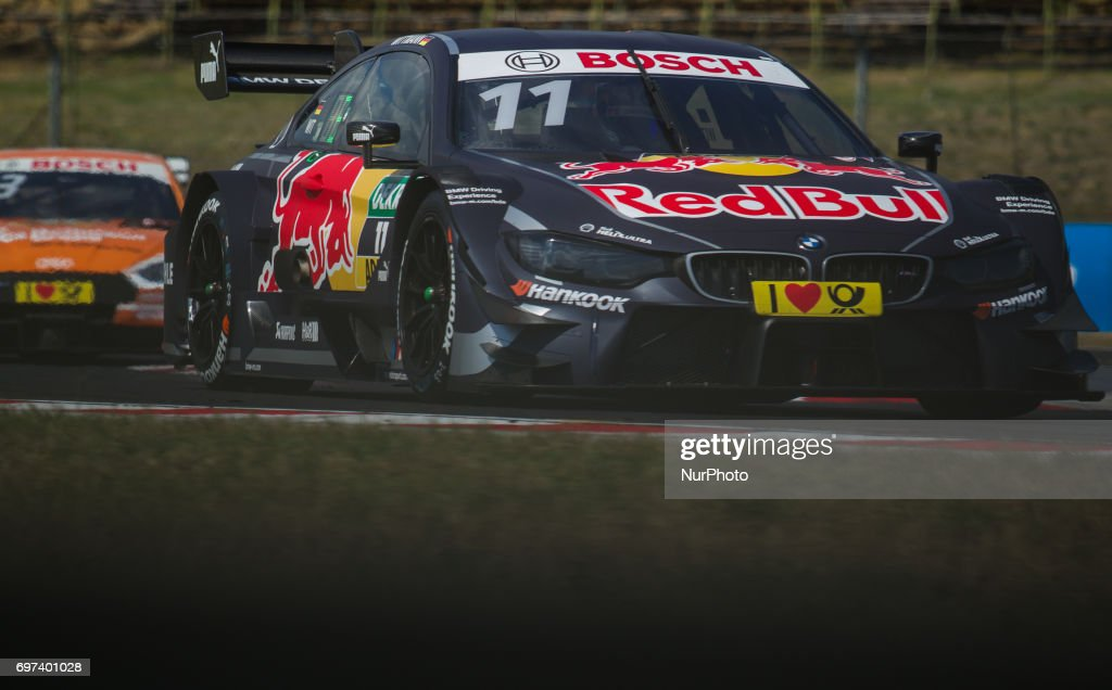 Marco Wittman of Deutchland and BMW Team RMG racing driver before the Hungarian DTM race on June 18, 2017 in Mogyoród, Hungary.