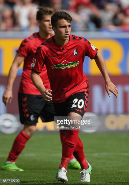 MarcOliver Kempf of Freiburg in action during the Bundesliga match between SC Freiburg and FC Ingolstadt 04 at SchwarzwaldStadion on May 13 2017 in...