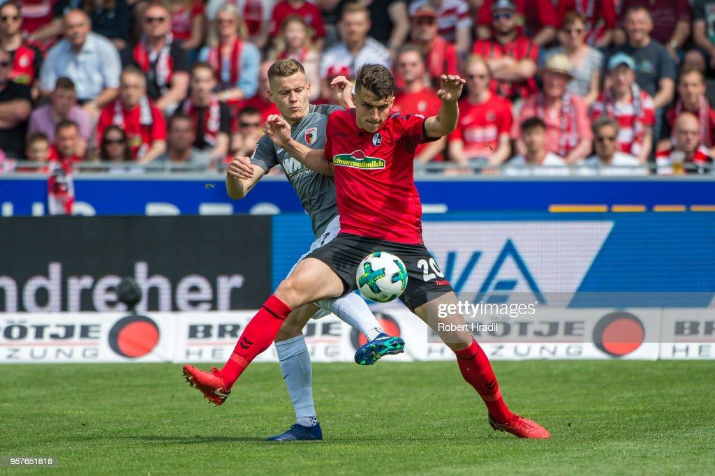 Sport-Club Freiburg v FC Augsburg - Bundesliga : Nachrichtenfoto