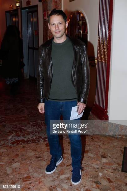 MarcOlivier Fogiel attends 'Depardieu Chante Barbara' at 'Le Cirque D'Hiver' on November 11 2017 in Paris France