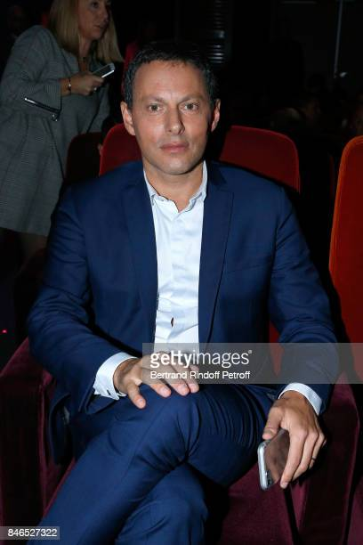 MarcOlivier Fogiel 'RTL soir On refait le monde' on RTL attends the RTL RTL2 Fun Radio Press Conference to announce their TV Schedule for 2017/2018...