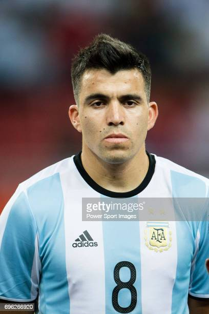 Marcos Acuna of Argentina during the International Test match between Argentina and Singapore at National Stadium on June 13 2017 in Singapore