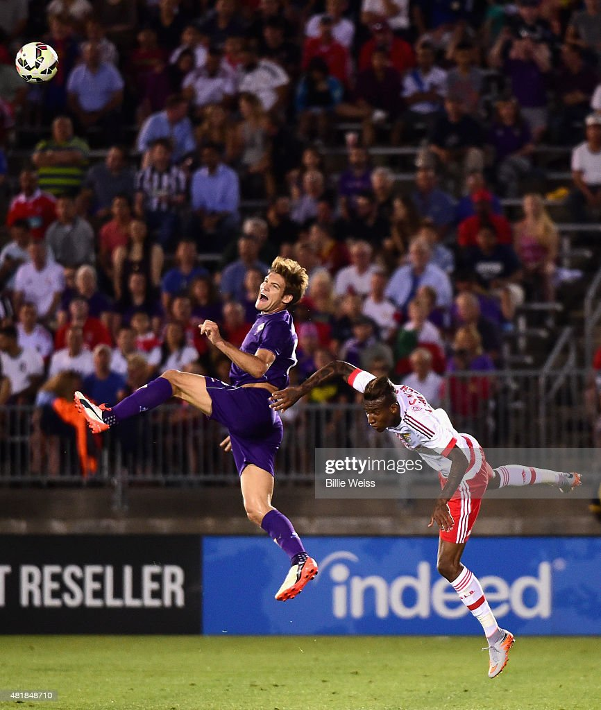 International Champions Cup 2015 - AFC Fiorentina v Benfica