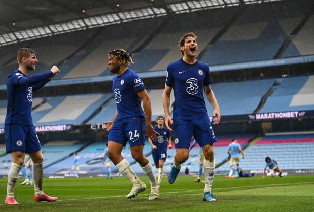 GBR: Manchester City v Chelsea - Premier League