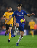 wolverhampton england marcos alonso chelsea controls