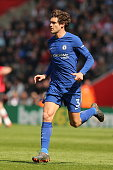 southampton england marcos alonso chelsea during