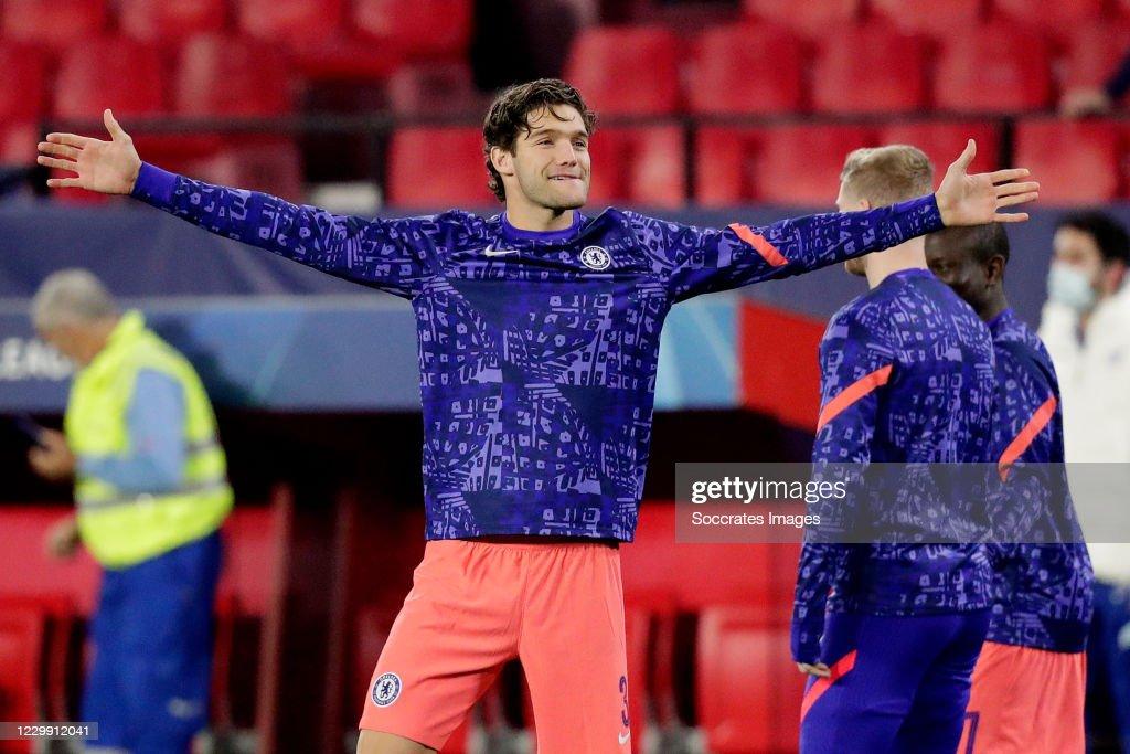 Sevilla v Chelsea - UEFA Champions League : News Photo