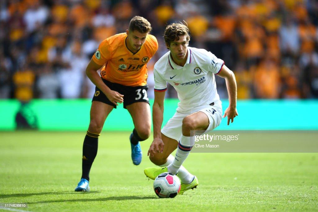 Wolverhampton Wanderers v Chelsea FC - Premier League : Nieuwsfoto's
