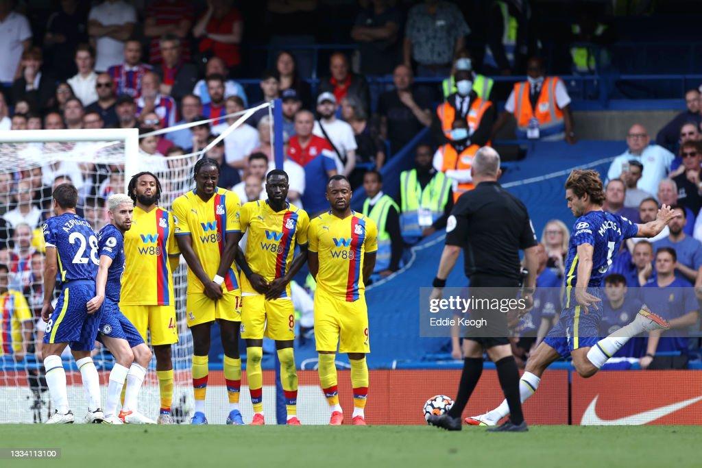 Chelsea v Crystal Palace - Premier League : ニュース写真