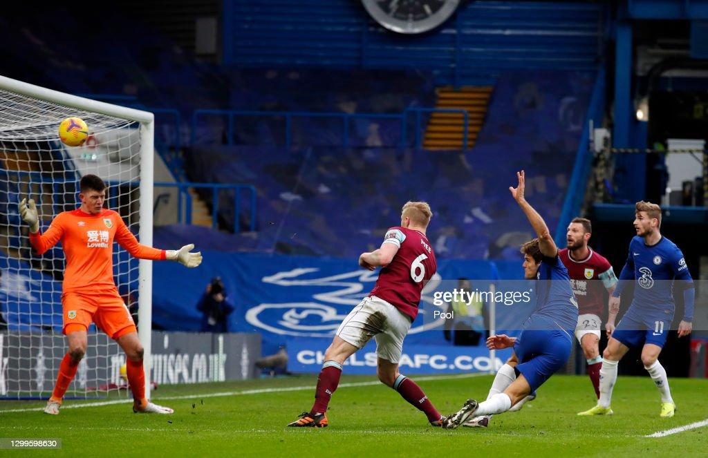 Chelsea v Burnley - Premier League : ニュース写真