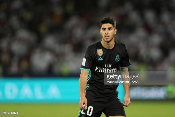 Marcos Asensio of Real Madrid looks on during the FIFA Club World Cup UAE 2017 semifinal match between Al Jazira and Real Madrid CF at Zayed Sports...