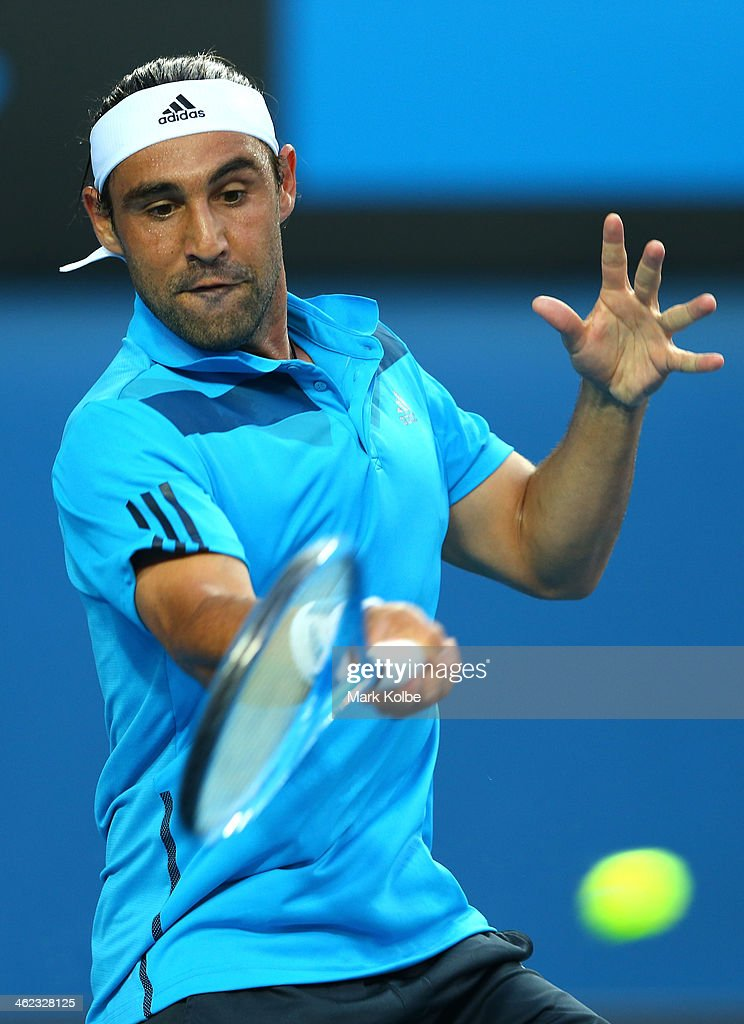 2014 Australian Open - Day 1 : News Photo