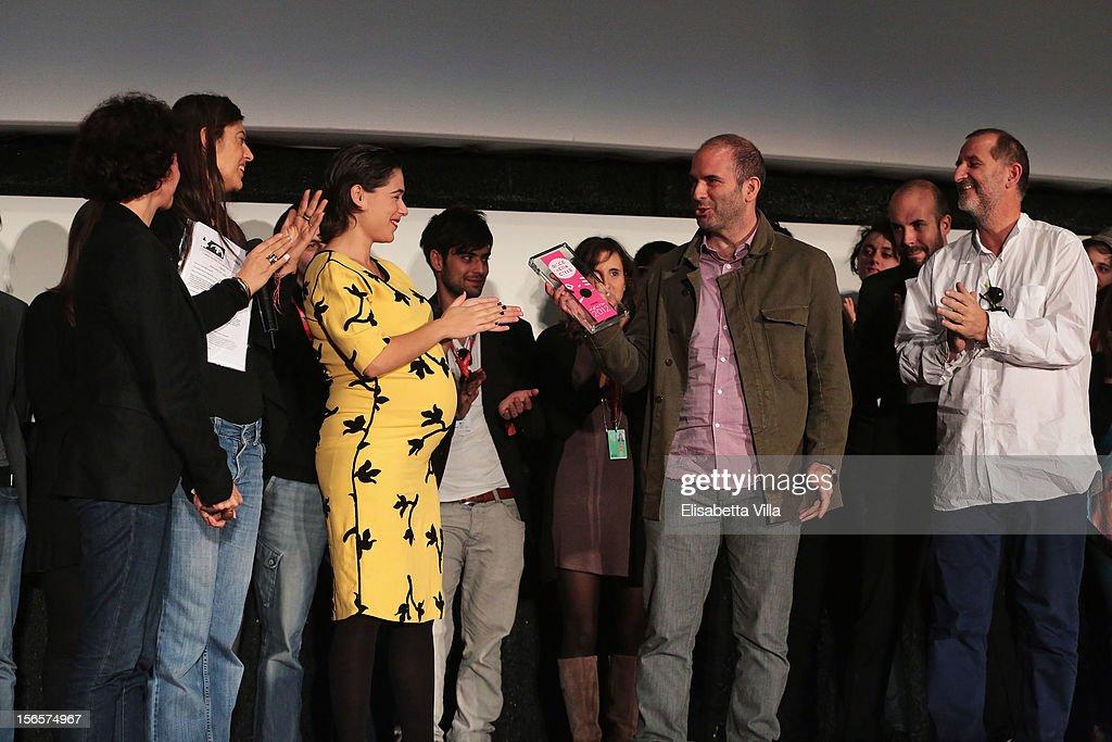 Alice Award Ceremony - The 7th Rome Film Festival : News Photo