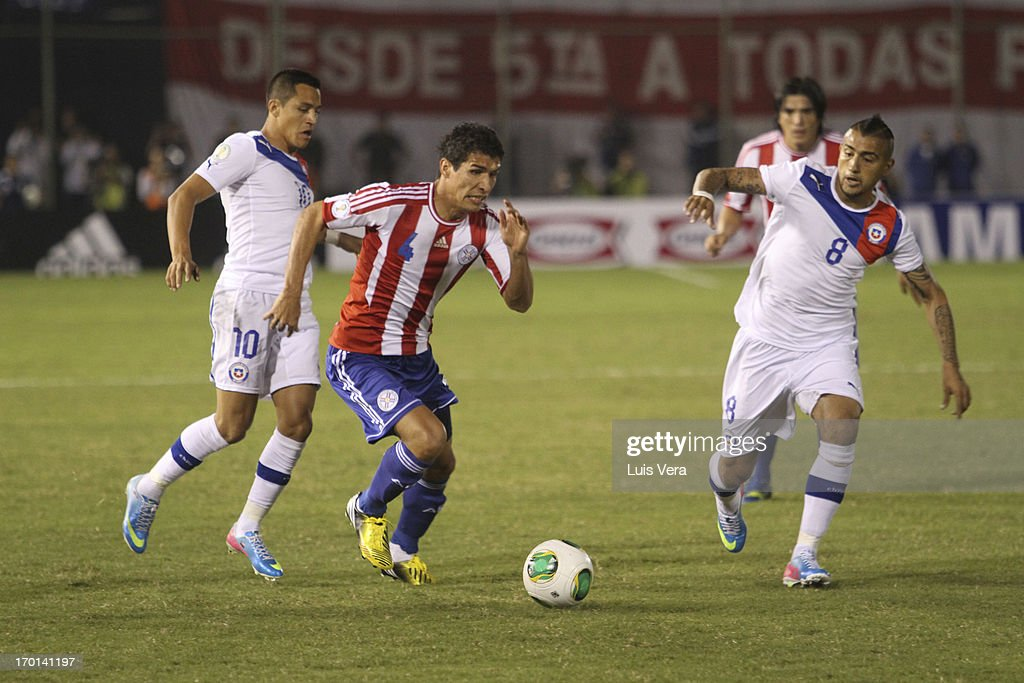 Paraguay v Chile - South American Qualifiers