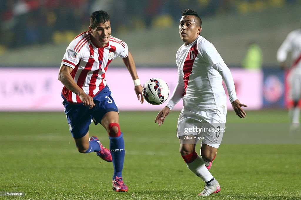 Peru v Paraguay: 3rd Place Playoff - 2015 Copa America Chile