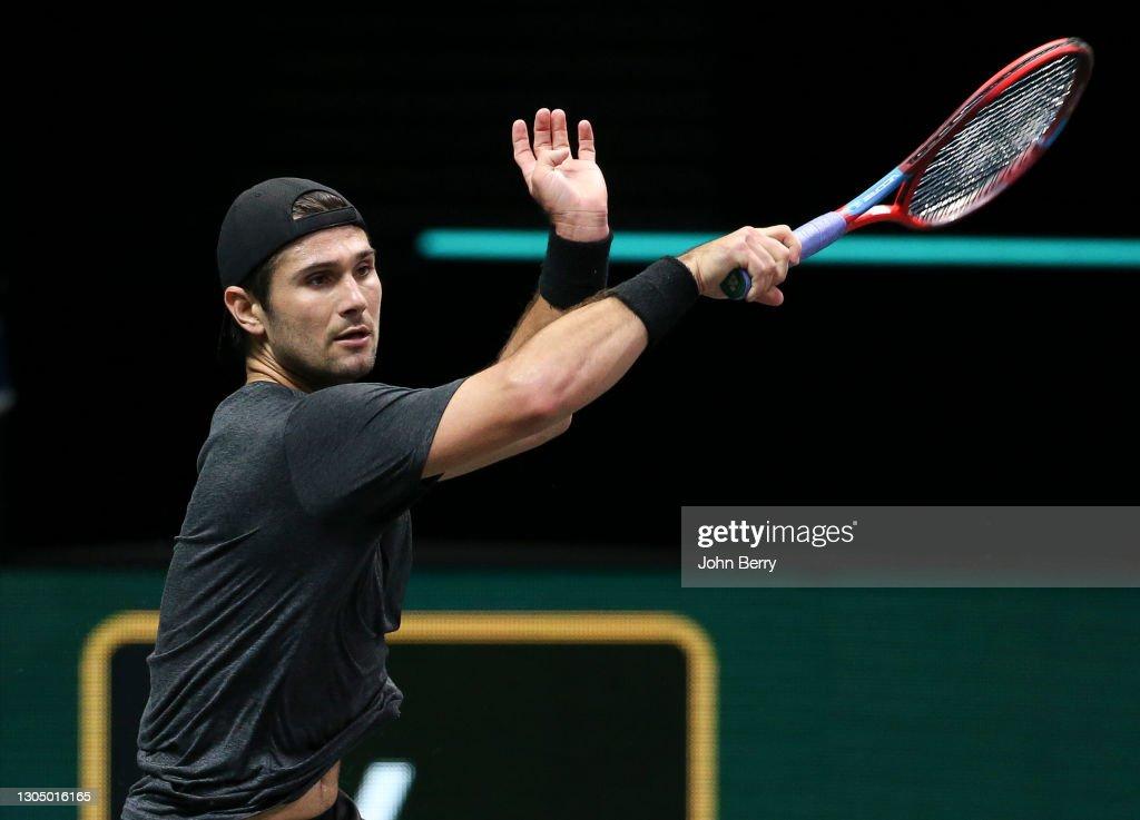 48th ABN AMRO World Tennis Tournament - Day Two : News Photo