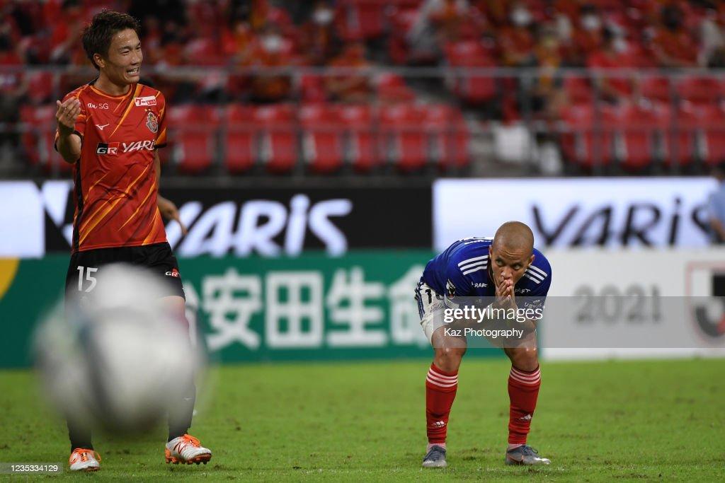 Nagoya Grampus v Yokohama F.Marinos - J.League Meiji Yasuda J1 : ニュース写真