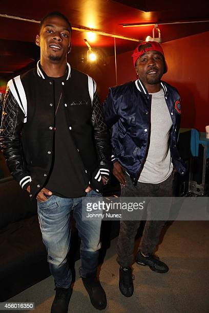 "Marcos ""Kosine On Da Beat"" Palacios and Ernest ""Tuo"" Clark aka Da Internz attend S.O.B.'s on September 23, 2014 in New York City."