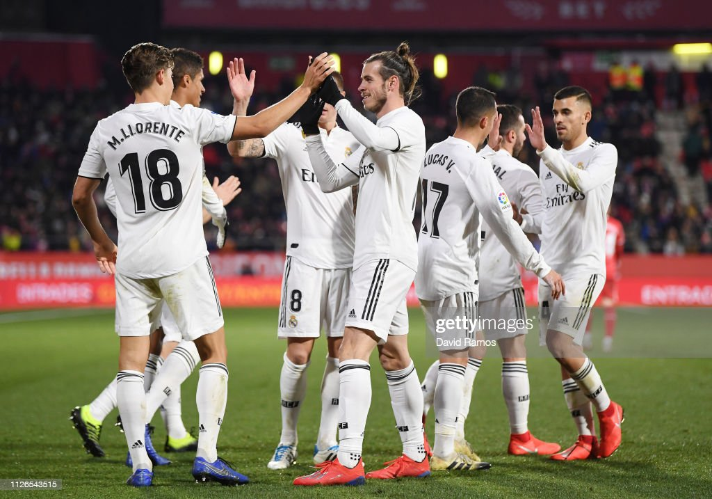 Girona v Real Madrid - Copa del Rey Quarter Final : News Photo