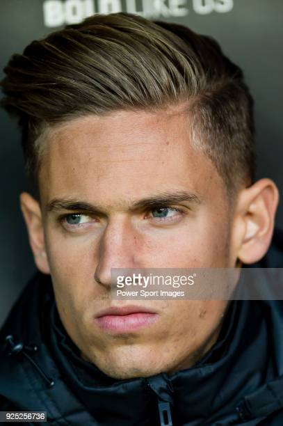 Marcos Llorente of Real Madrid reacts prior to the La Liga 201718 match between Valencia CF and Real Madrid at Estadio de Mestalla on 27 January 2018...