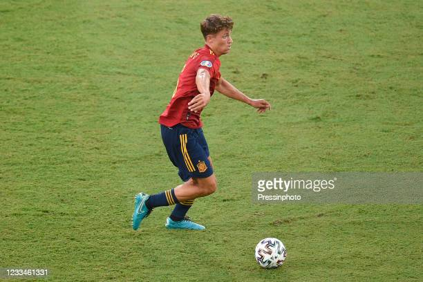 Marcos Llorente of Spain during the match between Spain and Sweden of Euro 2020, group E, matchday 1, played at La Cartuja Stadium on June 14, 2021...