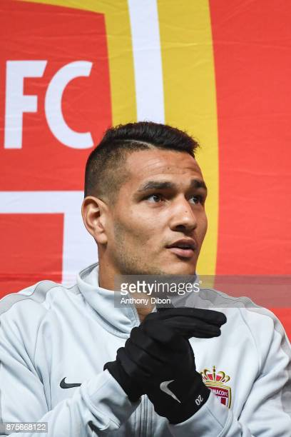 Marcos Lopes of Monaco during the Ligue 1 match between Amiens SC and AS Monaco at Stade de la Licorne on November 17 2017 in Amiens
