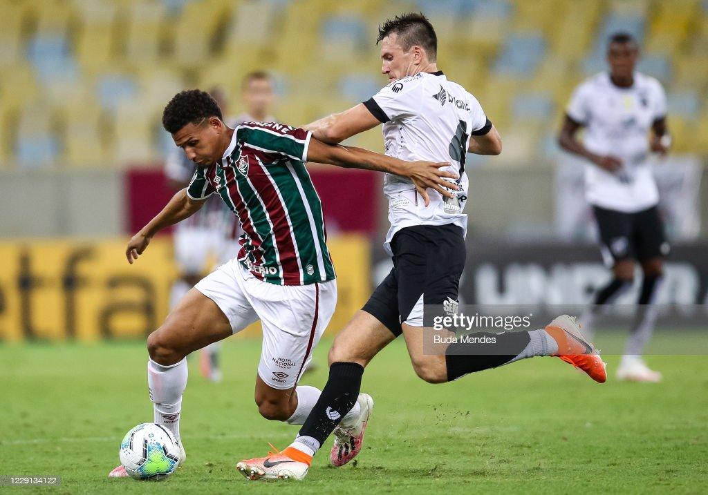 2020 Brasileirao Series A: Fluminense v Ceara Play Behind Closed Doors Amidst the Coronavirus (COVID - 19) Pandemic : News Photo