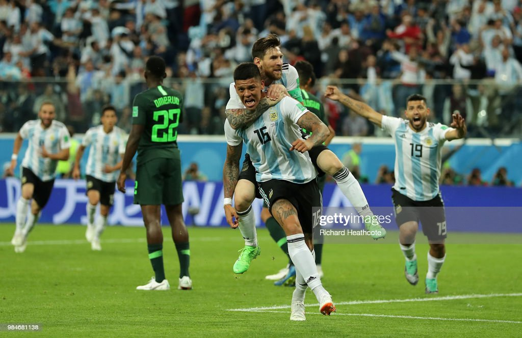 Nigeria v Argentina: Group D - 2018 FIFA World Cup Russia : News Photo