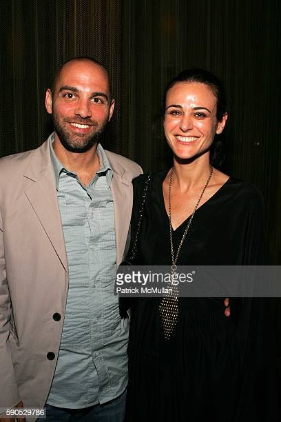 "Marcos Siega and Lisa Siega attend After Party for the New York Premiere of ""Pretty Persuasion"" Hosted by Gen Art and Acura at PLUS Lounge on August..."