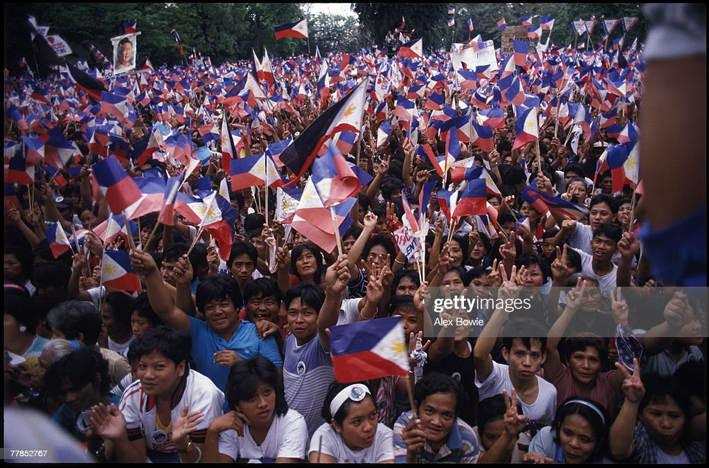Marcos Supporters : News Photo