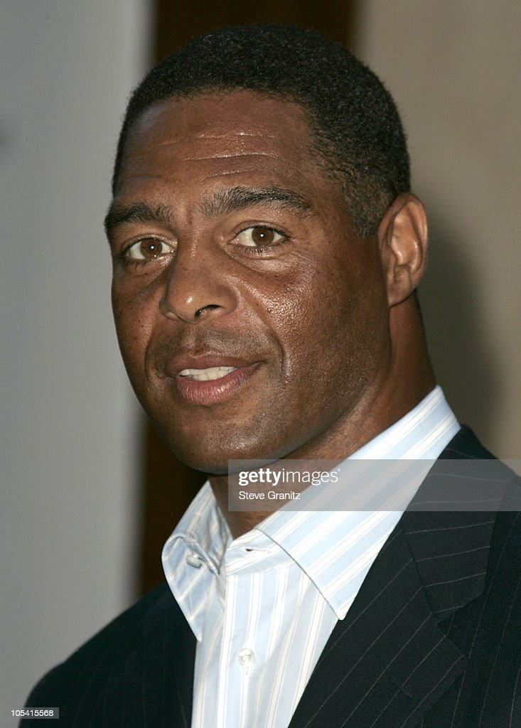 Marcus Allen during 6th Annual Mercedes-Benz DesignCure at Home of Sugar Ray and Bernadette Leonard in Pacific Palisades, California, United States.