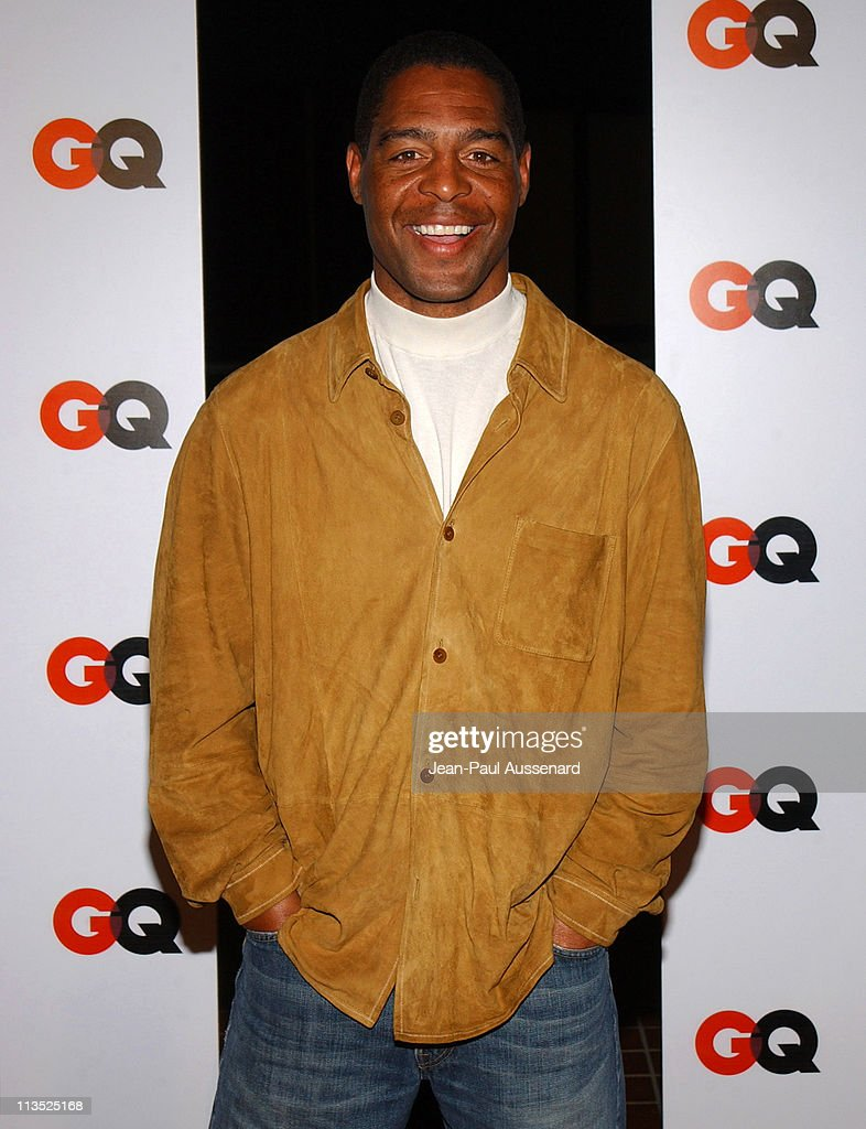 Marcus Allen during GQ Magazine - 2004 NBA All-Star Party - Arrivals at Astra West in West Hollywood, California, United States.