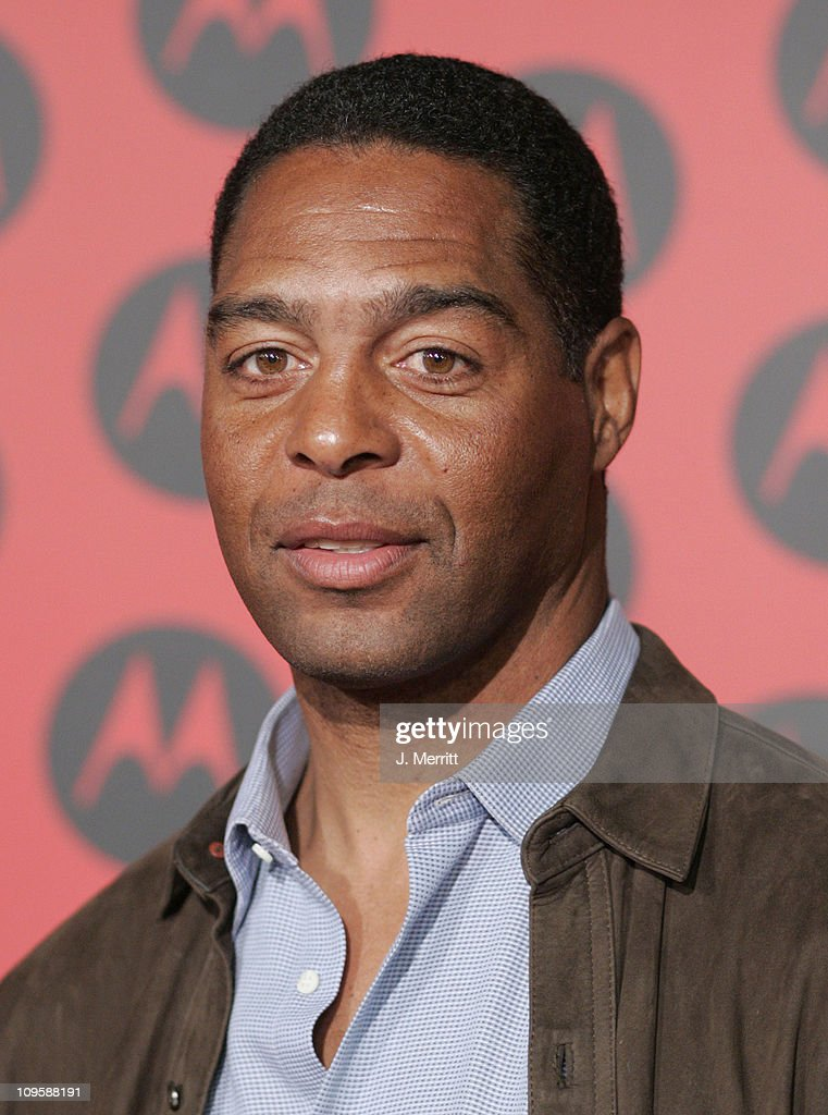 Marcus Allen during LL Cool J Performs at the Motorola Sixth Anniversary Party to Benefit Toys for Tots - Arrivals at Music Box Theatre in Hollywood, CA, United States.