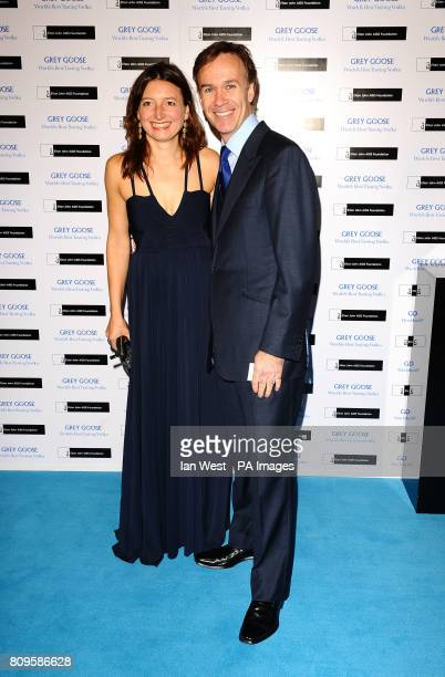 Marcus and Jane Wareing arrive at the Grey Goose Winter Ball to benefit the Elton John Aids Foundation at Battersea Evolution in London