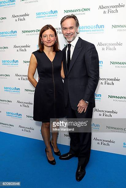 Marcus and Jane Wareing attend the SeriousFun Children's Network London Gala 2016 at The Roundhouse on November 3 2016 in London England