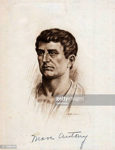 Marcus Antonius Roman orator and soldier Mark Anthony formed the second triumvirate to rule Rome and formed a romantic and political alliance with...