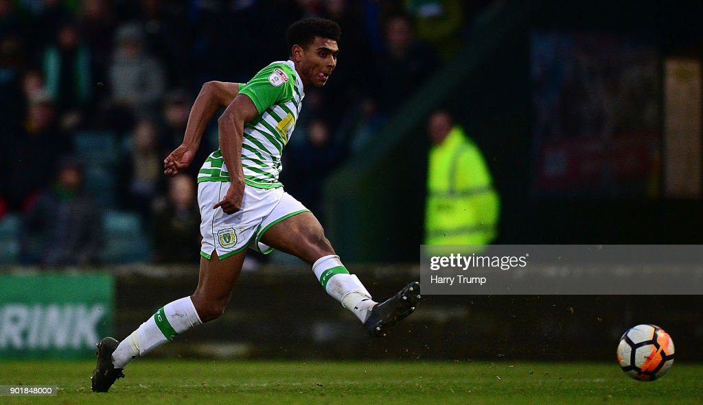 Yeovil Town v Bradford City - The Emirates FA Cup Third Round : Nachrichtenfoto