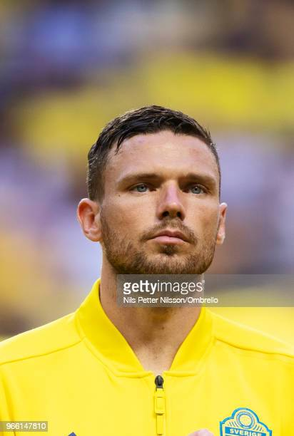 Marcus Berg of Sweden ahead of the International Friendly match between Sweden and Denmark at Friends Arena on June 2 2018 in Solna Sweden