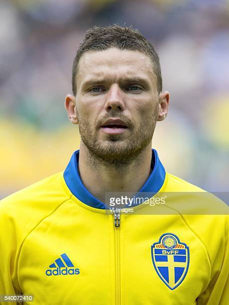 Marcus Berg of Sweden during the UEFA EURO 2016 Group E group stage match between Republic of Ireland and Sweden at the Stade de France on june 13...