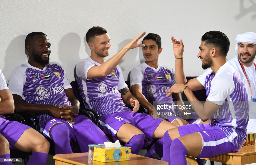 ARE: Al Ain Training and Press Conference - FIFA Club World Cup UAE 2018