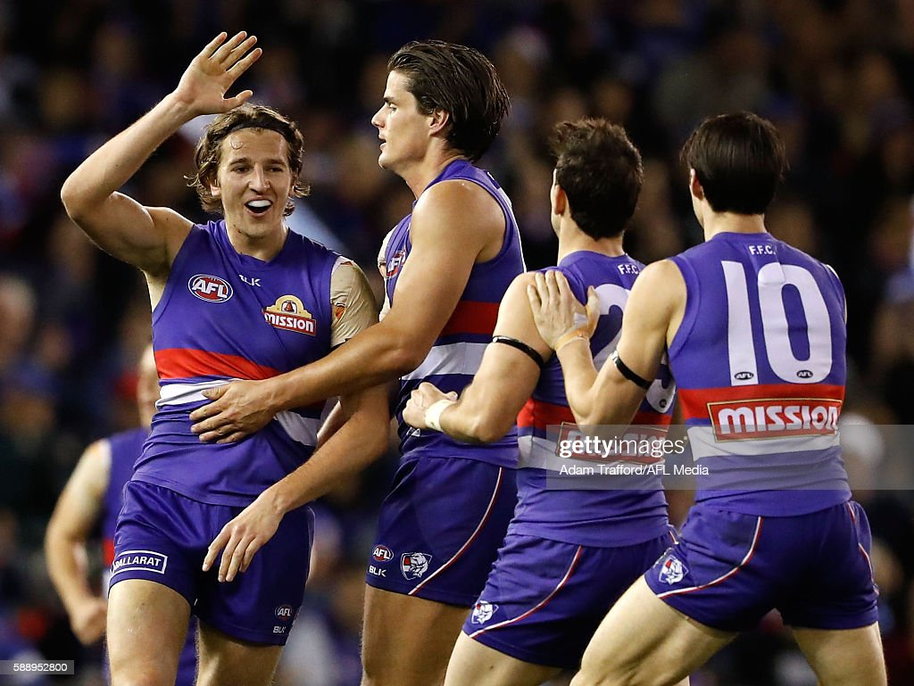 AFL Rd 21 - Western Bulldogs v Collingwood : News Photo
