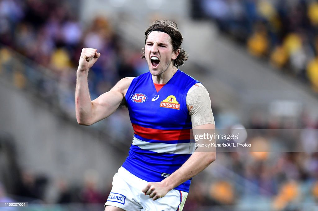 AFL Rd 20 - Brisbane v Western Bulldogs : News Photo