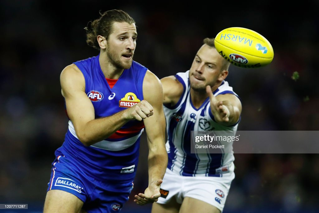 2020 Marsh Community Series -  Western Bulldogs v North Melbourne : News Photo