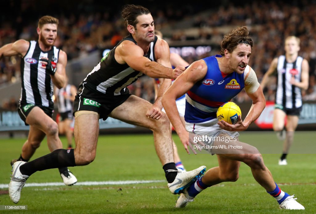 AFL Rd 4 - Collingwood v Western Bulldogs : News Photo