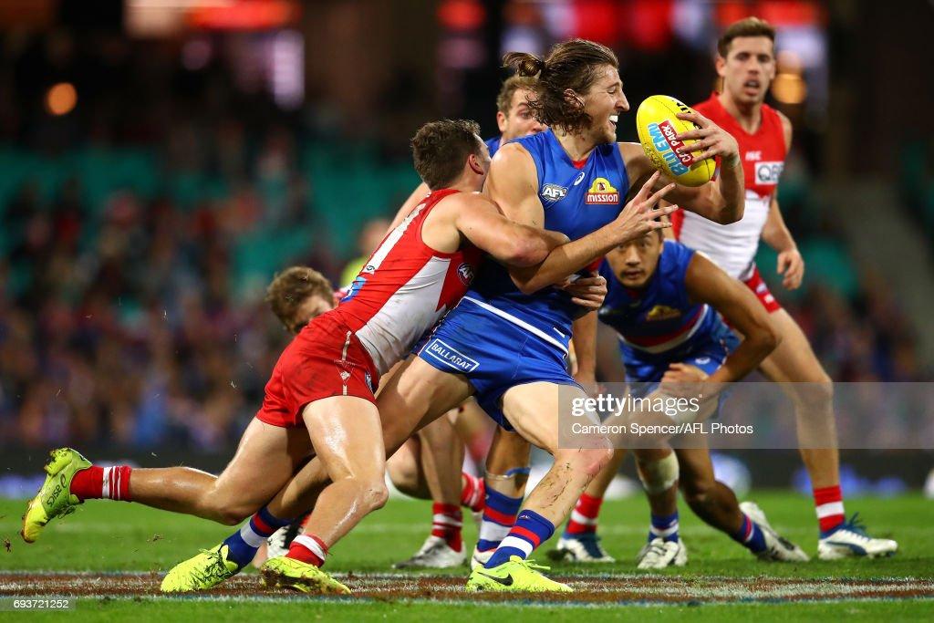AFL Rd 12 - Sydney v Western Bulldogs