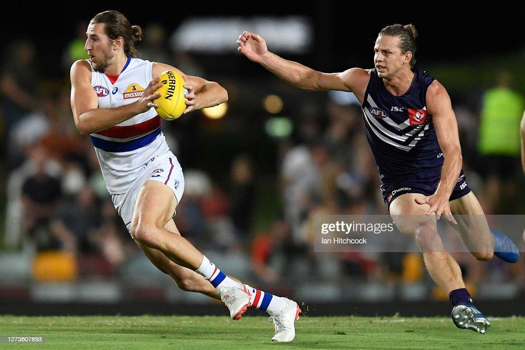 AFL Rd 18 - Fremantle v Western Bulldogs : News Photo