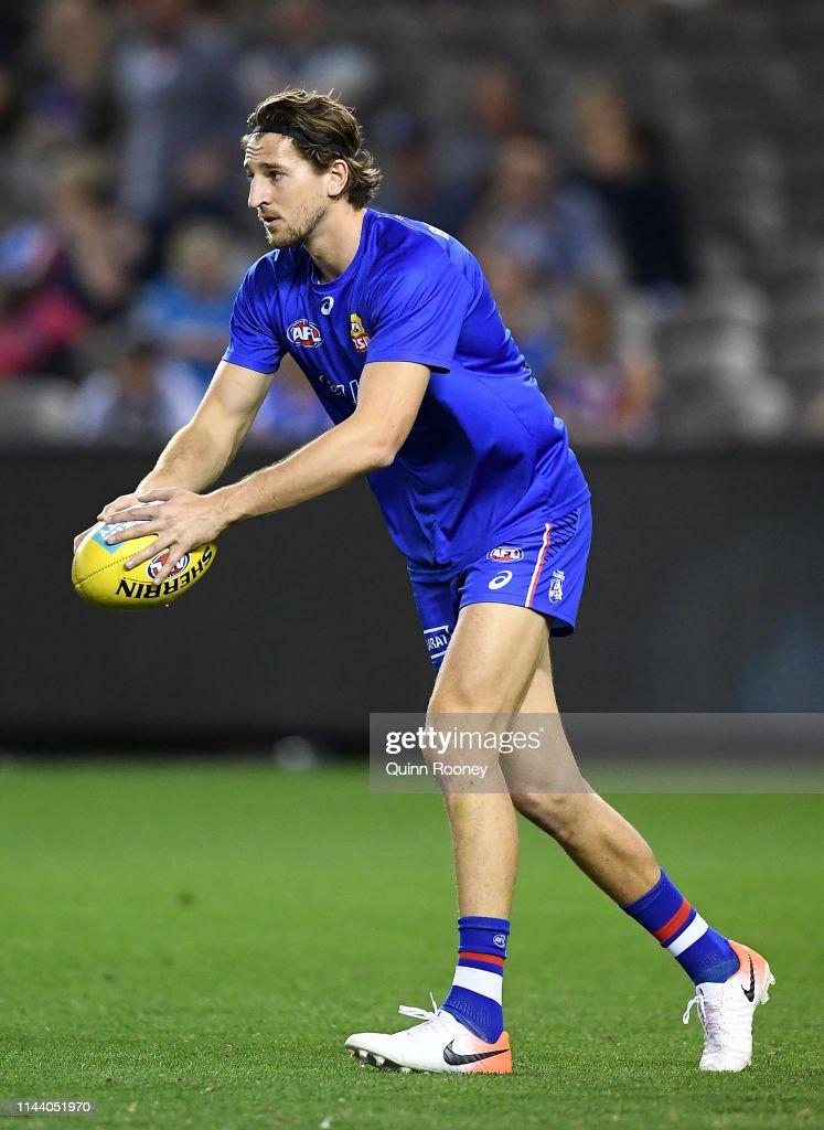 AUS: AFL Rd 5 - Western Bulldogs v Carlton
