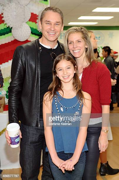 Marcus Buckingham daughter Lilia and Jane Buckingham attend the Third Annual Baby2Baby Holiday Party presented by The Honest Company on December 14...