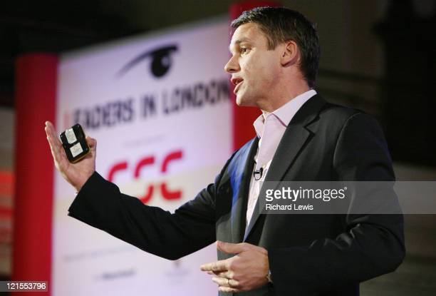 Marcus Buckingham pictured at the Leaders in London International Leadership Summit, on November 28, 2007 in London. The event, now in its forth...