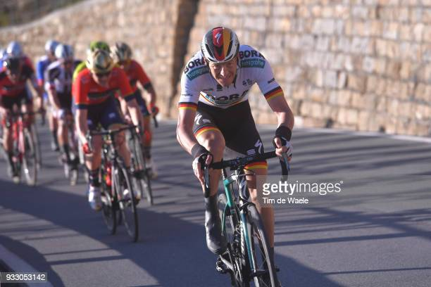 Marcus Burghardt of Germany and Team BoraHansgrohe / during the 109th MilanSanremo 2018 a 291km race from Milan to Sanremo on March 17 2018 in...
